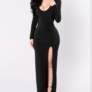 Fashion Nova Long Sexy Dress